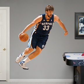 Marc Gasol Fathead Wall Decal