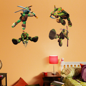 Teenage Mutant Ninja Turtles Collection Fathead Wall Decals
