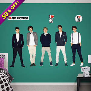 One Direction Fathead Vinyl Wall Decal