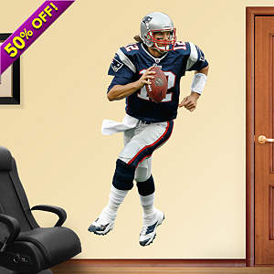 Tom Brady - Home Fathead Wall Decal