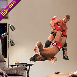 Chris Jericho Finisher - Junior Fathead Wall Decal