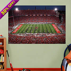 Shop college wall murals large college sports murals for Beaver stadium wall mural