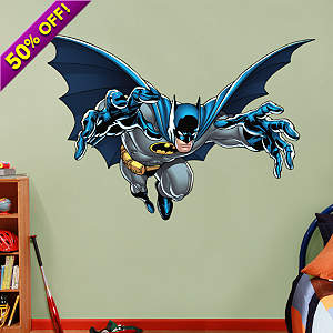 Batman - Leaping Fathead Wall Decal