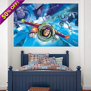 Buzz Lightyear Mural Fathead Wall Decal