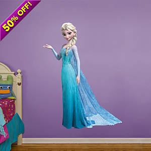 Snow Queen Elsa Fathead Wall Decal
