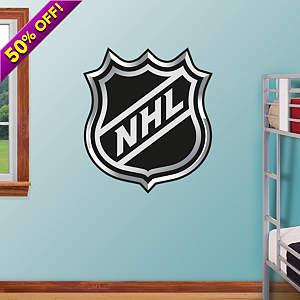 NHL Logo Fathead Wall Decal