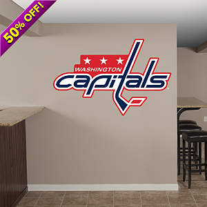 Washington Capitals Logo Fathead Wall Decal