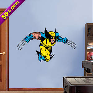 Classic Wolverine Fathead Wall Decal