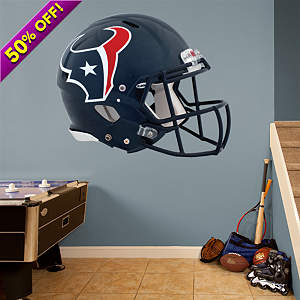 Houston Texans Helmet Fathead Wall Decal