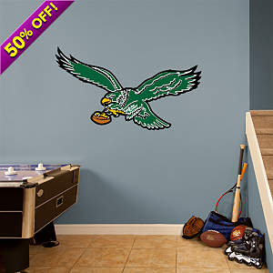 Philadelphia Eagles Classic Logo Fathead Wall Decal