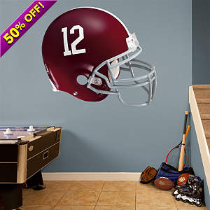 Bama Helmet Fathead Wall Decal