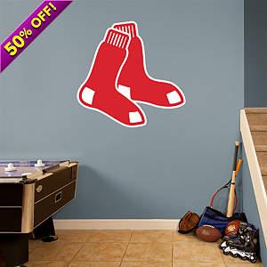 Boston Red Sox Logo Fathead Wall Decal