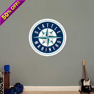 Seattle Mariners Logo Fathead Wall Decal