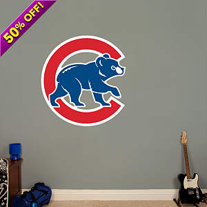 Chicago Cubs Alternate Logo Fathead Wall Decal