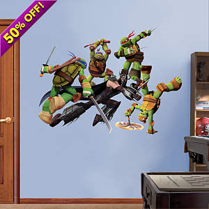 Teenage Mutant Ninja Turtles Shredder Battle  Fathead Wall Decal