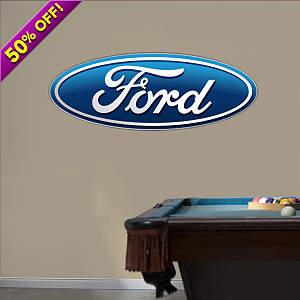 Ford Oval Logo Fathead Wall Decal