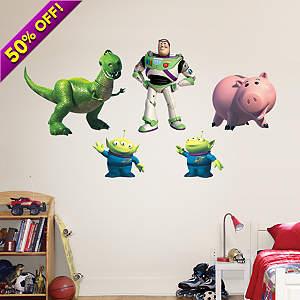 Buzz Lightyear & Friends Fathead Wall Decal
