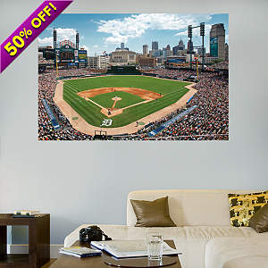 Inside Comerica Park Mural Fathead Wall Decal