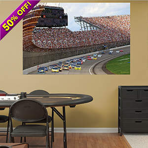 Michigan International Speedway Mural Fathead Wall Decal
