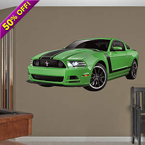 Ford Mustang Boss 302 Fathead Wall Decal