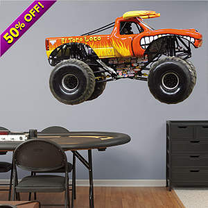 El Toro Loco Fathead Wall Decal
