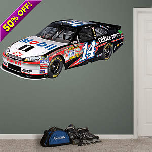 Tony Stewart #14 Mobil 1 Car 2012 Fathead Wall Decal