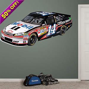 Tony Stewart #14 Mobil 1 Car 2012 Fathead Wall Decal