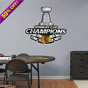 Blackhawks Stanley Cup Championship wall decal