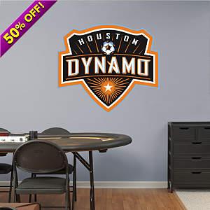 Houston Dynamo Logo Fathead Wall Decal