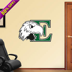 Eastern Michigan University Logo Fathead Wall Decal