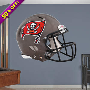 Tampa Bay Buccaneers 2013 Helmet Fathead Wall Decal