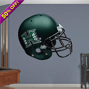 Hawaii Warriors Helmet Fathead Wall Decal