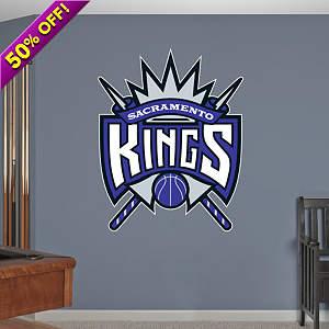 Sacramento Kings Logo Fathead Wall Decal