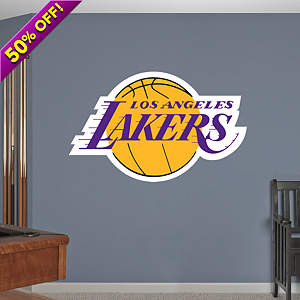 Los Angeles Lakers Logo Fathead Wall Decal