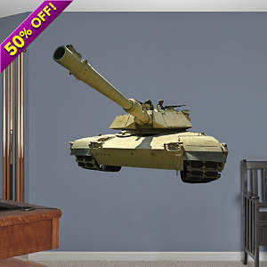 M1 Abrams Tank Fathead Wall Decal