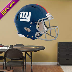 New York Giants Helmet Fathead Wall Decal