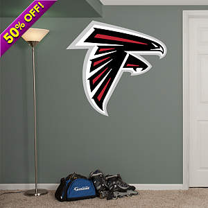 Atlanta Falcons Logo Fathead Wall Decal