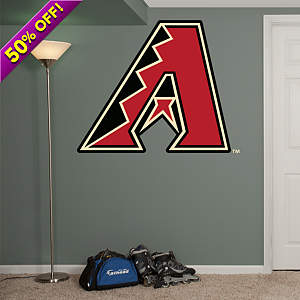 Arizona Diamondbacks Primary Logo Fathead Wall Decal