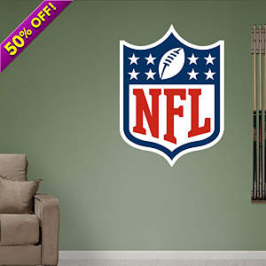 NFL Logo Fathead Wall Decal