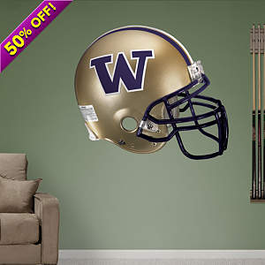 Washington Huskies Helmet Fathead Wall Decal