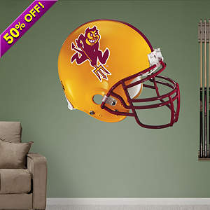 Arizona State Sun Devils Helmet Fathead Wall Decal