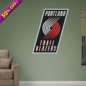 Portland Trail Blazers Logo Fathead Wall Decal