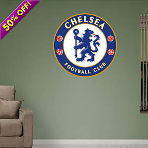 Chelsea FC Crest Fathead Wall Decal