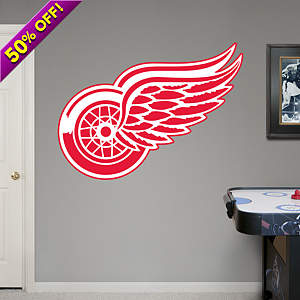 Detroit Red Wings Logo Fathead Wall Decal