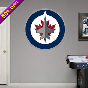 Winnipeg Jets Logo Fathead Wall Decal