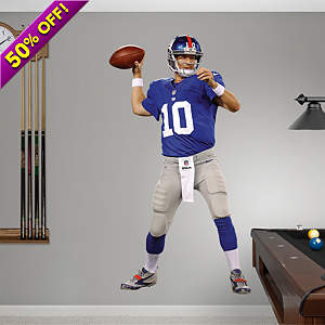 Eli Manning - Home Fathead Wall Decal