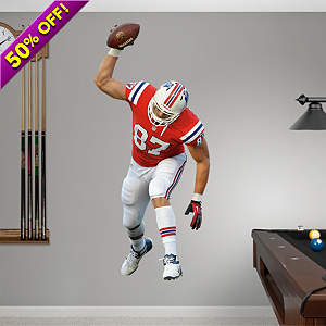Rob Gronkowski - Spike Fathead Wall Decal