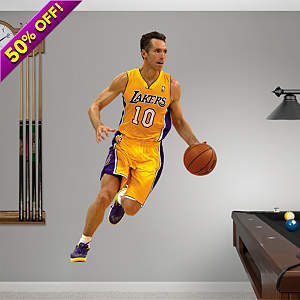 Steve Nash - No. 10 Fathead Wall Decal