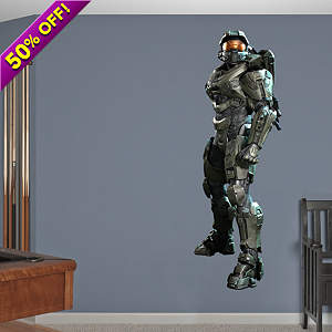 Master Chief: Halo 4 Fathead Wall Decal