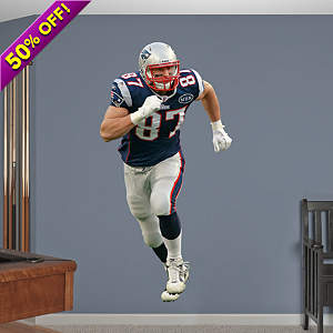 Rob Gronkowski Fathead Wall Decal